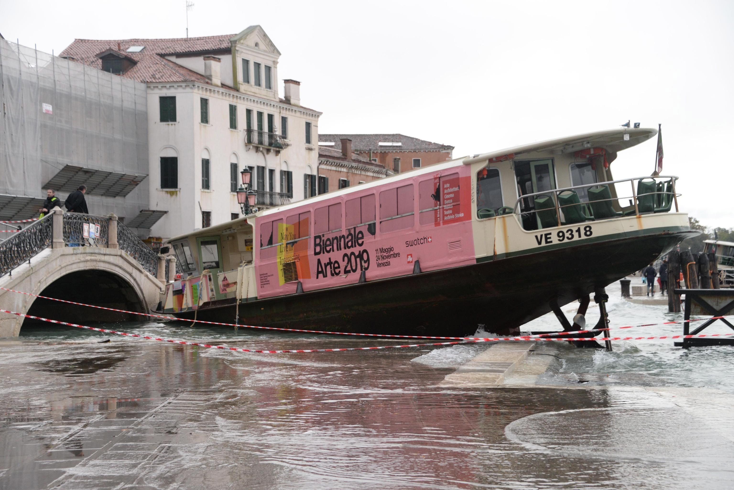 Imágenes de la peor inundación desde 1966 (Foto: EFE)