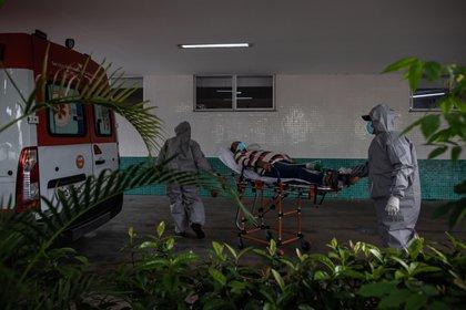 En el mundo ya se registraron más de 1.900.000 muertes EFE/Raphael Alves