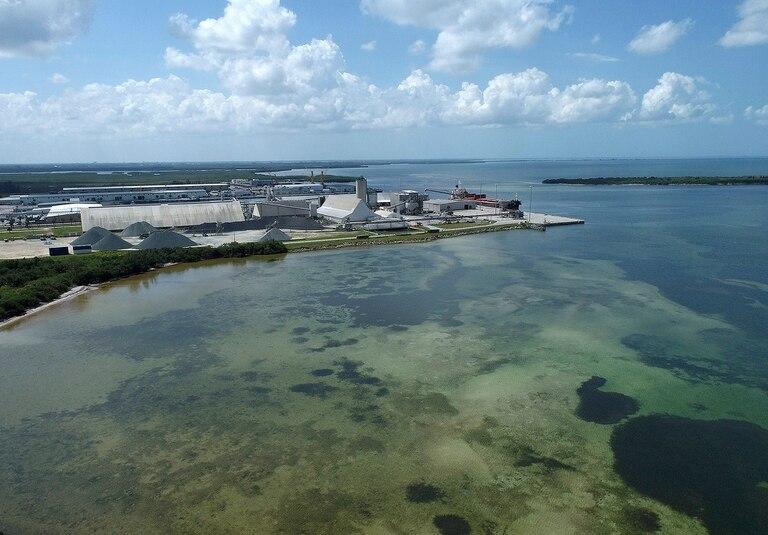 Florida enfrenta una inminente catástrofe ambiental por un derrame de aguas contaminadas en Tampa
