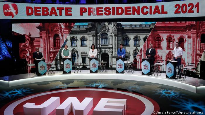 Peru Lima | Debatte zur Präsidentenwahl