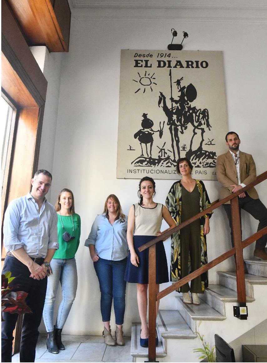 """""""Un Colegio que incluya"""", propone la lista Celeste, Roja y Blanca"""