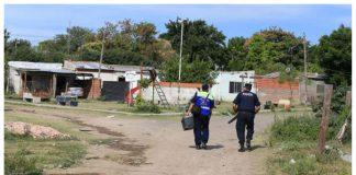 Hubo un operativo policial en Villa 351.